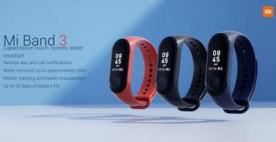 Представлен Xiaomi Mi Band 3 с NFC и защитой от воды